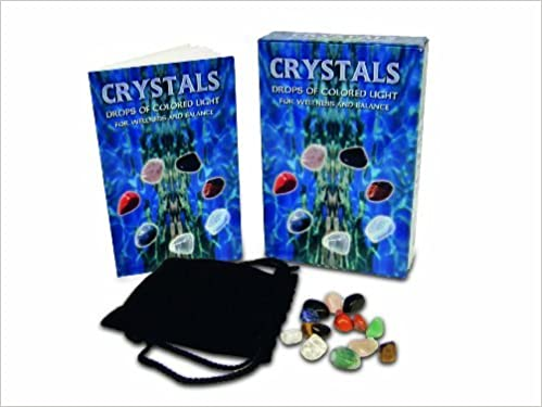 Crystals - Drops of Colored Light for Wellness and Balance