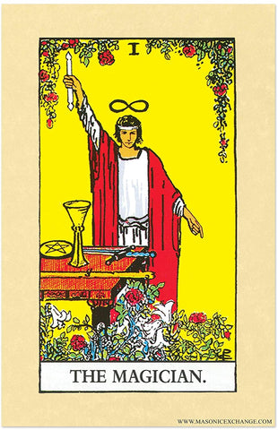 The Rider Tarot Deck - The Magician