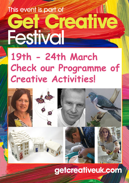 Get Creative with Us during the Get Creative Festival Week! (17-25 March 2018)