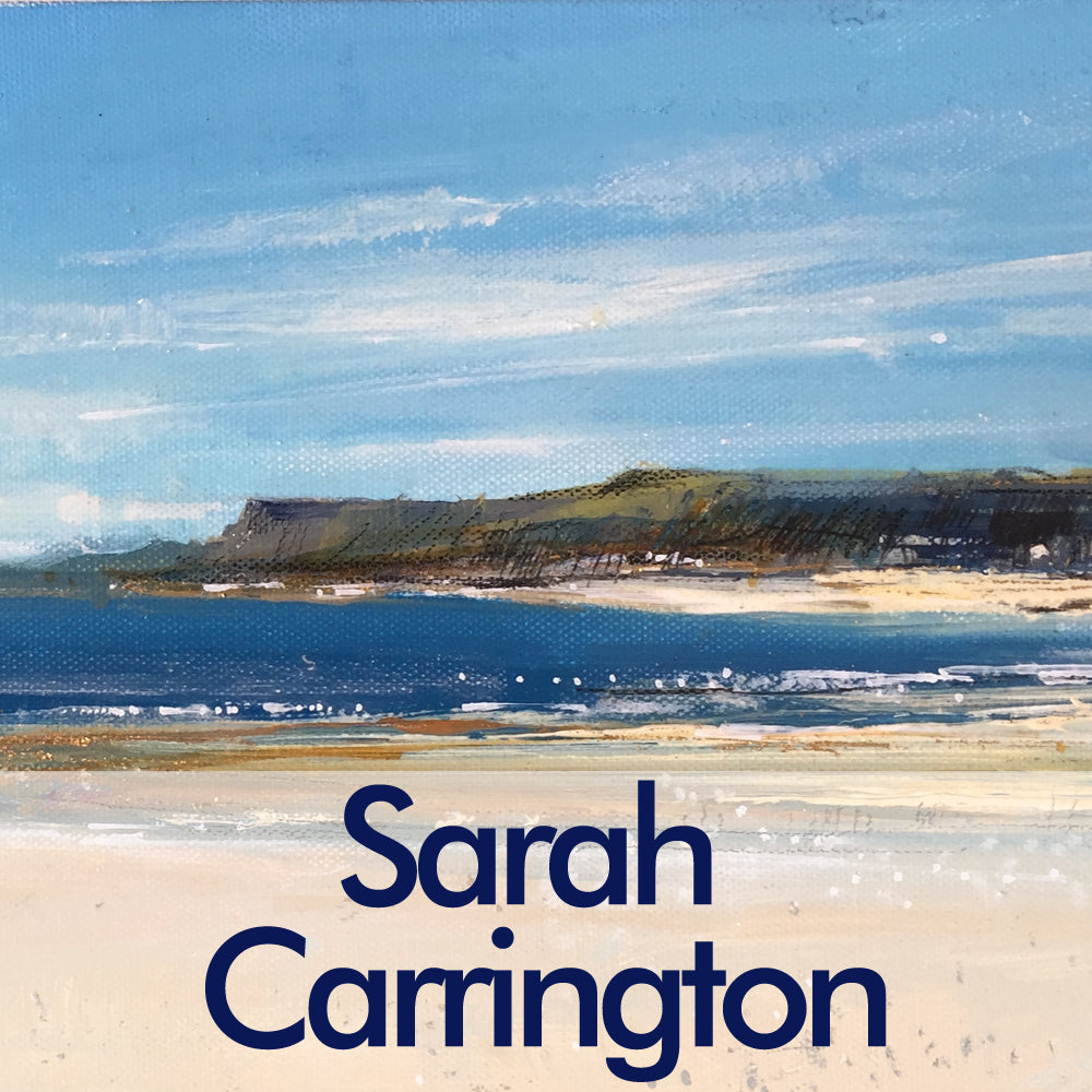 Sarah Carrington - Artist (Fine Art) - Seascapes and Coastal Landscapes