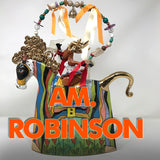 Ann-Marie Robinson is an Irish ceramicist who makes original colourful ceramics including animals and teapots