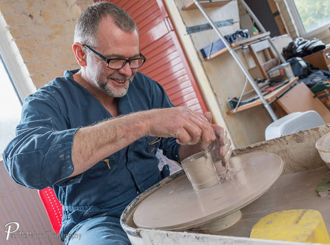 Throwing pots is fun and our talented ceramicist Alan McCluney does it to perfection!