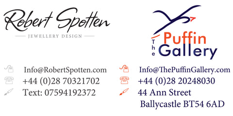 Contact details for each company. Robert Spotten works on appointments only.
