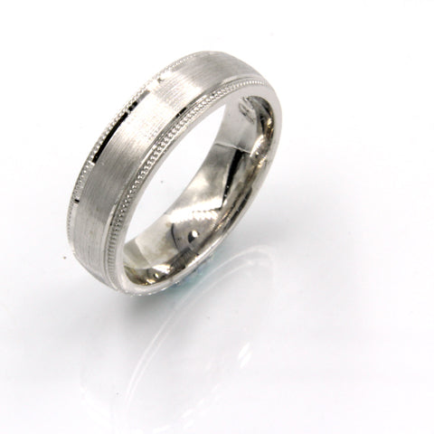 Gents Wedding ring (PALLADIUM OR PLATINUM) - Model RS-PB01