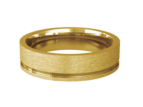 Gents Wedding ring (GOLD) - Model Ref. RS-PB31