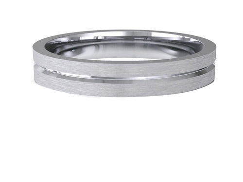 Ladies Wedding ring (PALLADIUM OR PLATINUM) - Model RS-PB10L
