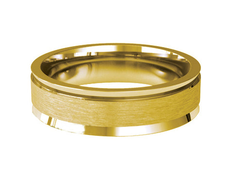 Gents Wedding Ring (GOLD) - Model RS-PB18