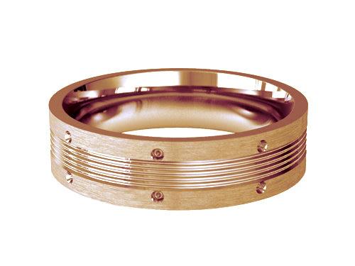 Gents Wedding ring (GOLD) RS-PB016