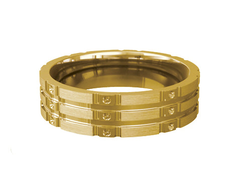 Gents Wedding ring (GOLD) Model RS-PB071