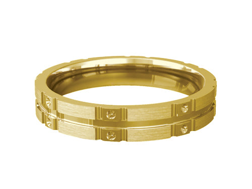 Gents Wedding ring (GOLD) - Model Ref. RS-PB19