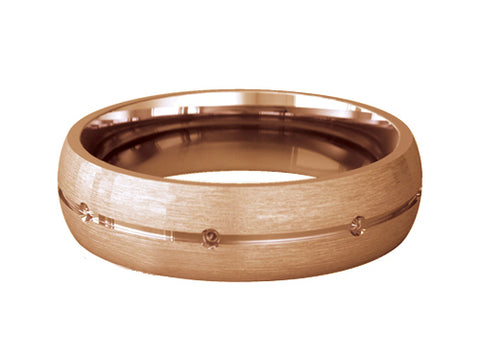 Gents Wedding ring (GOLD) - Model Ref. RS-PB48