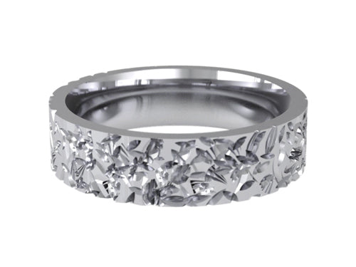 Gents Wedding ring (PALLADIUM OR PLATINUM) - Model RS-PB27