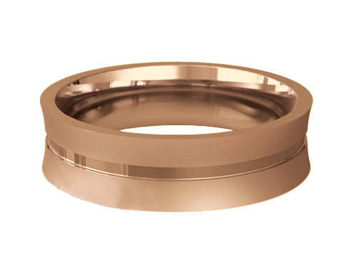 Gents Wedding ring (GOLD) - Model Ref. RS-PB30