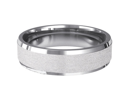 Gents Wedding ring (PALLADIUM OR PLATINUM) - Model RS-PB38