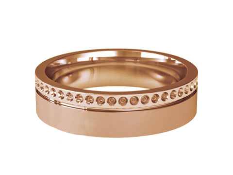 Gents Wedding Ring (GOLD) - Model RS-PB06