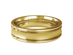 Gents Wedding ring (GOLD) - Model Ref. RS-PB44