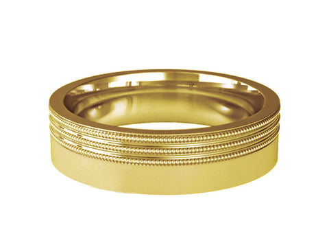 Gents Wedding ring (GOLD) - Model RS-PB008