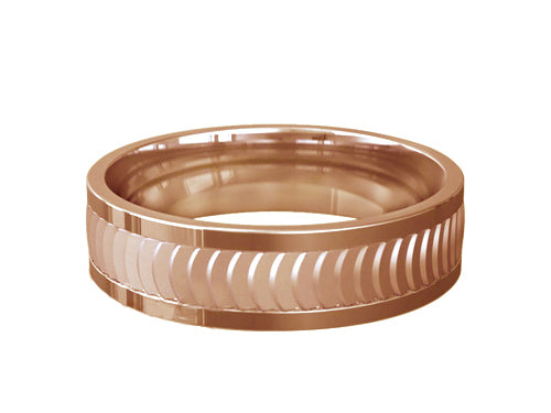 Gents Wedding ring (GOLD) - Model Ref. RS-PB46