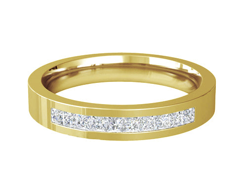 Ladies Diamond Wedding ring (GOLD) - RS-PB64