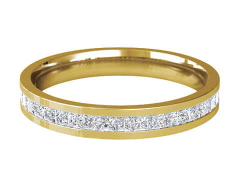 Ladies Diamond Wedding ring (GOLD) - Model RS-PB66