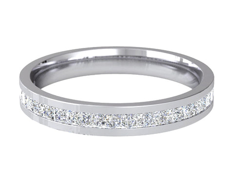 Ladies Wedding ring (PALLADIUM OR PLATINUM) - RS-PB66