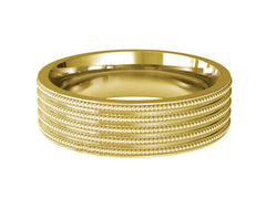 Gents Wedding ring (GOLD) - Model Ref. RS-PB67