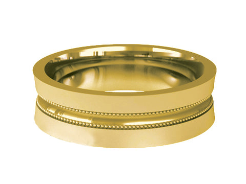 Gents Wedding ring (GOLD) Model RS-PB013