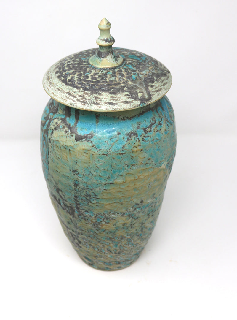 Alan McCluney - Vase with a lid