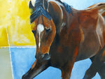 Aristocrat - Horse portrait by JC Byrne