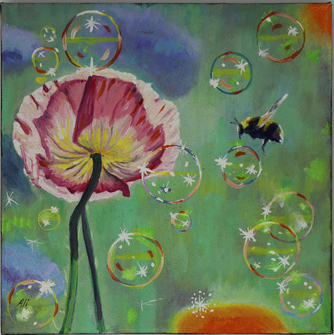 Alison Jess - Bubbles, Flowers and Bees