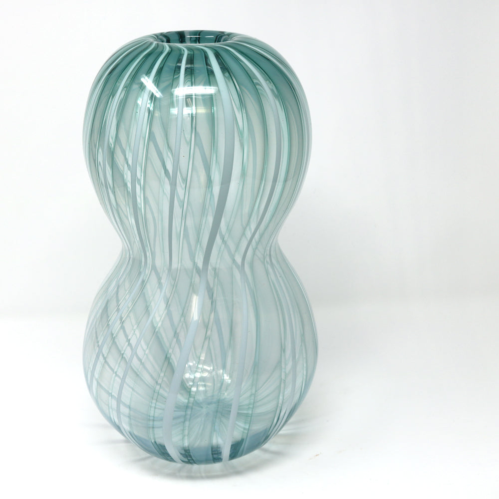 Catherine Keenan - Striped mint vessel