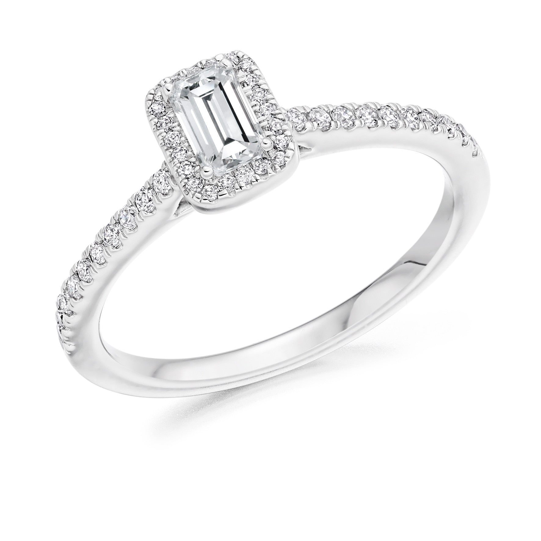 de platinum engagement rings beers classic ring emerald db solitaire cut