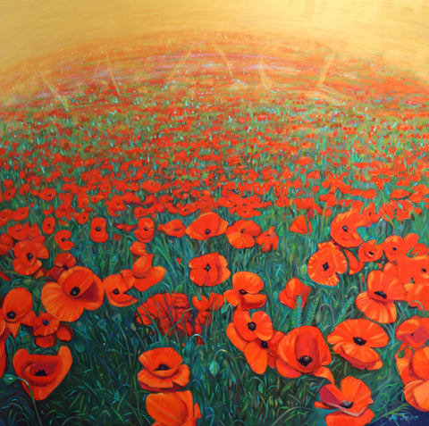 Sarah Carrington - Poppies by the Sea
