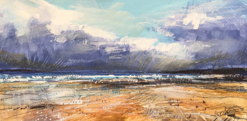 Sarah Carrington seascape painting part of the collection View from the Edge