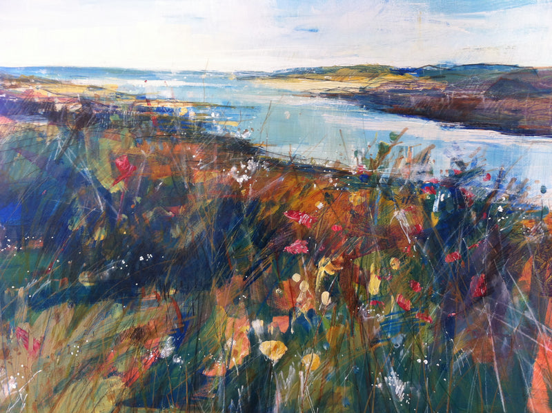 Wild Flowers and Grasses, County Donegal by Sarah Carrington