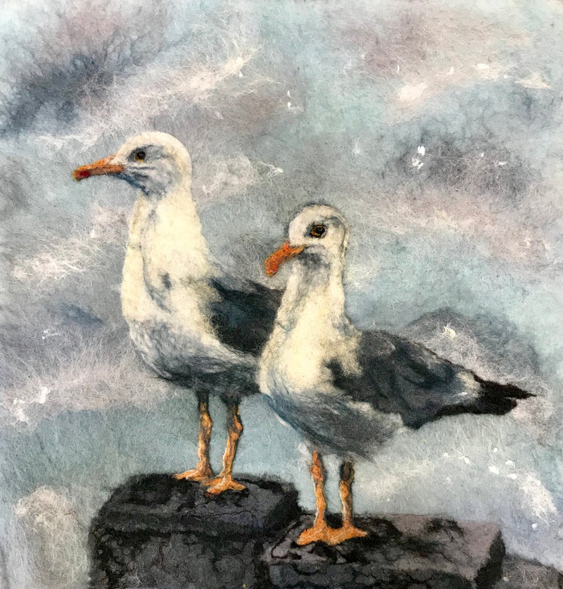 Marie-Louise Gormley:  Seagulls