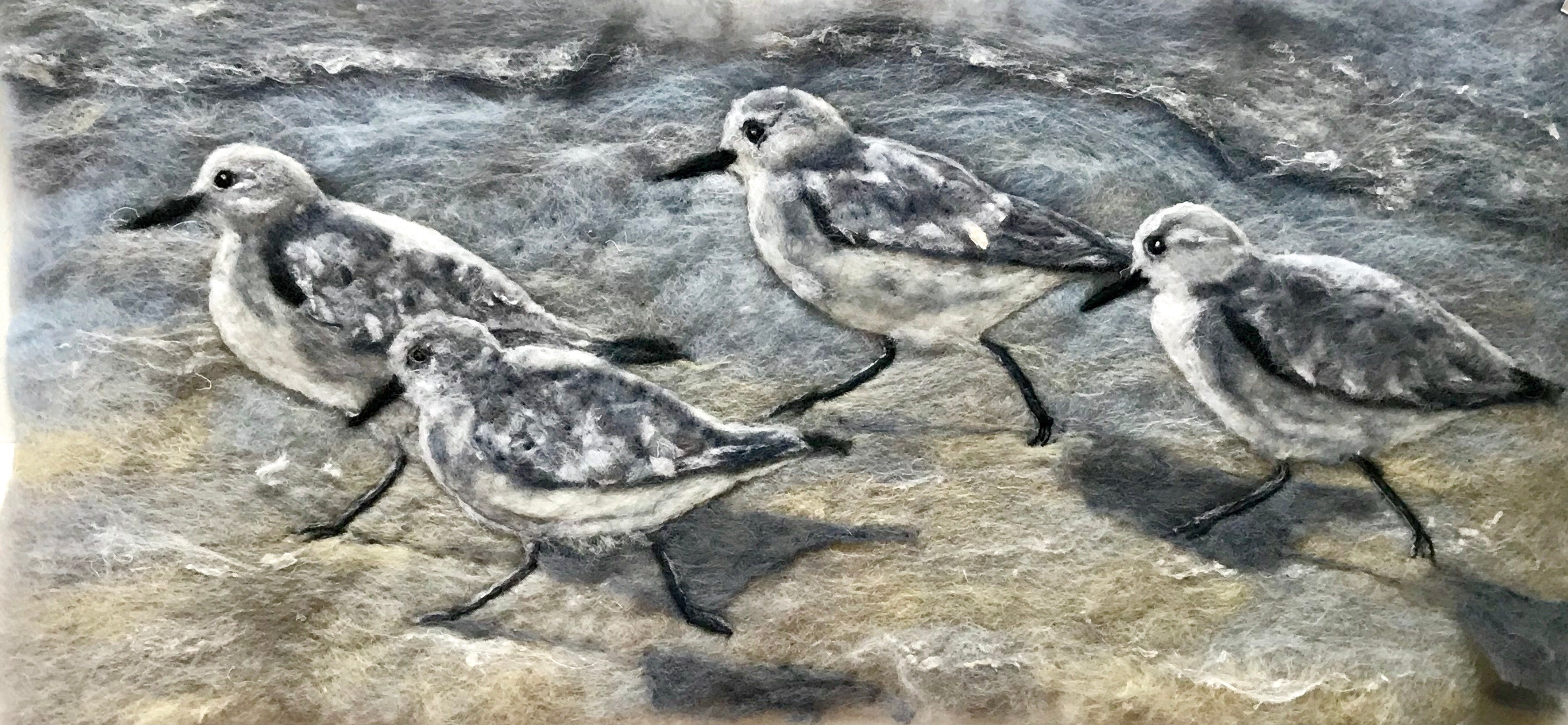 Marie-Louise Gormley: Sandpipers