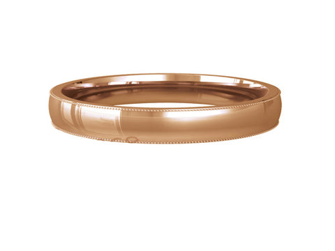 Ladies Wedding ring (GOLD) - Model RS-PB001L