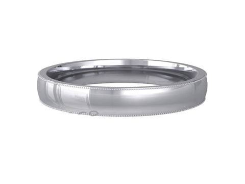 Ladies Wedding ring (PALLADIUM OR PLATINUM) - Model RS-PB01L