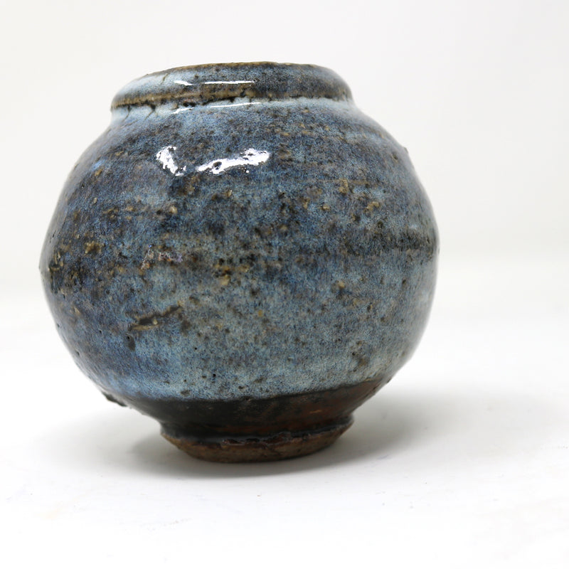 Mini Moon Jar - Light Blue - by Claire Murdock