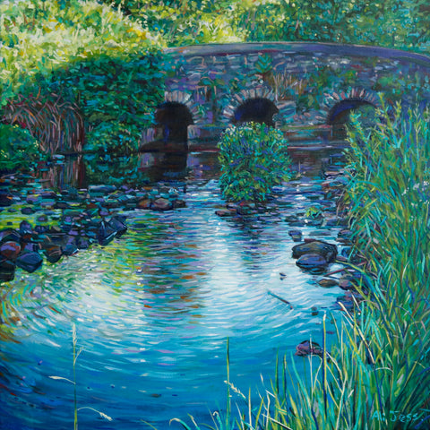 Alison Jess -  Lisnoe Bridge - Shadow Side