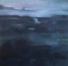 Evening Shadows - Oil painting of the Irish Bogland by Millie Moore