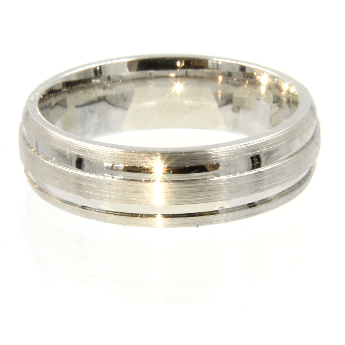 Gents Wedding ring (PALLADIUM OR PLATINUM) - Model RS-PB12