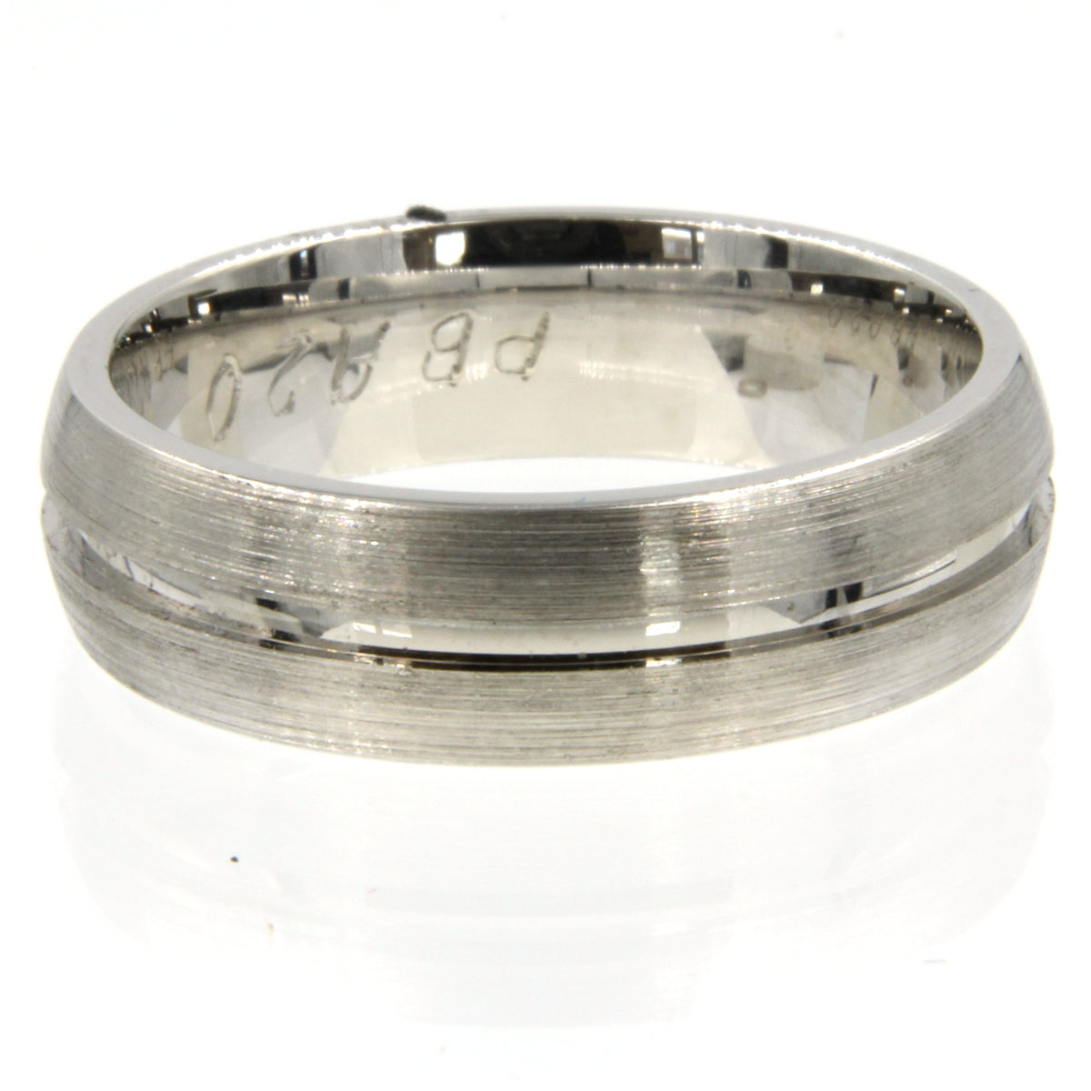 Gents Wedding ring (PALLADIUM OR PLATINUM) - Model RS-PB20