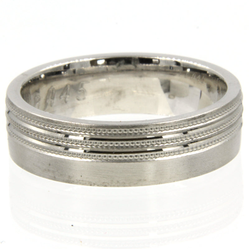 Gents Wedding ring (PALLADIUM OR PLATINUM) - Model RS-PB45