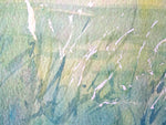 Field Grass (Irish Farming Cow Painting) - Watercolour by Peter Shaw