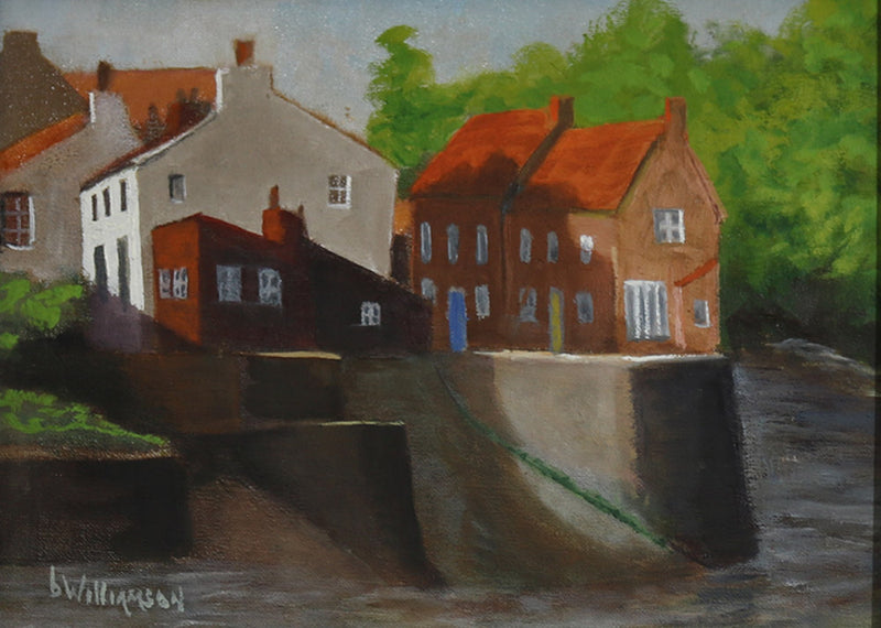 Barry Williamson - Staithes in Yorkshire