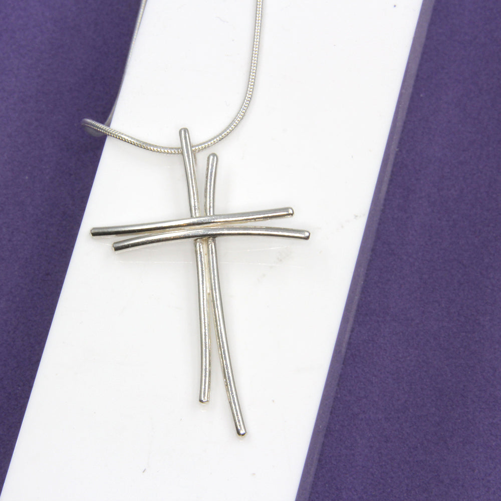 Sterling Silver Wire Cross