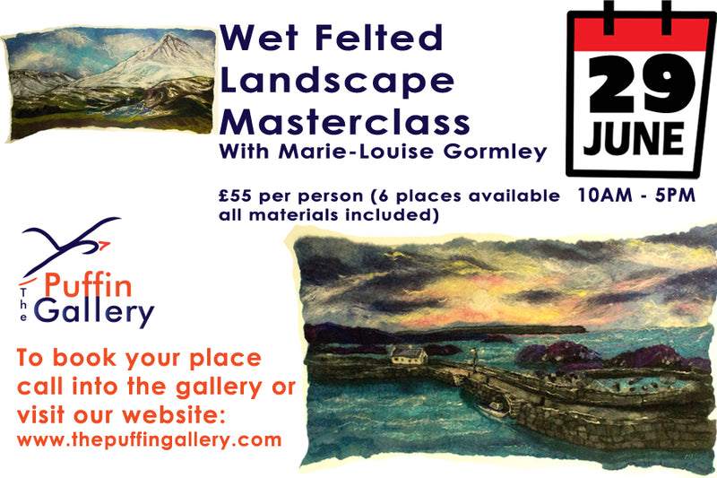Masterclass - Wet Felt a Landscape with M.L Gormley