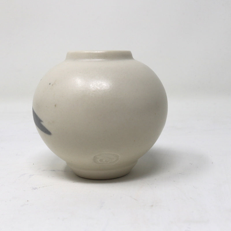 Mini-Moon Jar - Black White Cream - by Claire Murdock